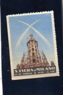 1929 DECIMA FIERA DI MILANO - Cinderellas