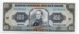 EQUATEUR : 100 Sucres 1993 (unc) - Ecuador