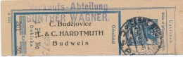 J0491 - Czechoslovakia (1923) Ceske Budejovice 1 (sender: L. & C. Hardtmuth - manufacturer of graphite and pencils)