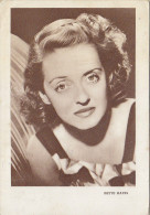 Bette Davis Old Postcard 1957 - Attori