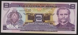 HONDURAS 2 Lempiras 26.08.2004  # Q8046220  P#80A - Honduras