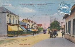 CHALONS-SUR-MARNE : Avenue De La Gare - RARE CPA - Cachet De La Poste 1925 - Châlons-sur-Marne