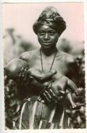 Afrique Tchad  Femme Et Enfant Foulbé N°16  TBE - Tchad
