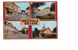 14 Bretteville Sur Laize Carte RARE Carte 4 Vues - Andere Gemeenten