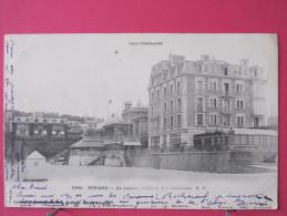 35 - Dinard - Le Casino - L'Hôtel Des Terrasses - Précurseur 1902 - Convoyeur Dinard à Dinan - Scans Recto-verso - Dinard