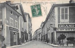 ¤¤  -   1439   -  SAINT-MARCELLIN   -   Hôtel De France Et Grand'Rue  -  Café Du Tramway    -  ¤¤ - Saint-Marcellin