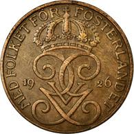 Monnaie, Suède, Gustaf V, 5 Öre, 1926, TTB, Bronze, KM:779.2 - Suède
