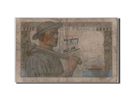 10 Francs Mineur Type 1941 - 1871-1952 Circulated During XXth