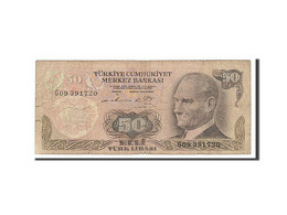 [#156062] Turquie, 50 Lira Type Atatürk - Turquie
