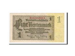 [#156497] Allemagne, 1 Rentenmark Type 1937 - [ 4] 1933-1945 : Terzo  Reich