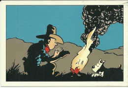 TINTIN .DESSIN DE HERGE  .(TINTIN)( BANDE DESSINEE) - Comics