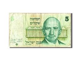 Israël, 5 Shequalim Type Weizmann - Israel