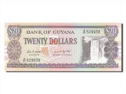 [#255948] Guyane, 20 Dollars, Type 1989-1992 - Guyana