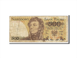 Pologne, 500 Zlotych Type 1982 - Pologne
