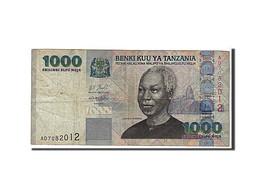 [#110137] Tanzanie, 1000 Shilingi Type 2003 - Tanzania