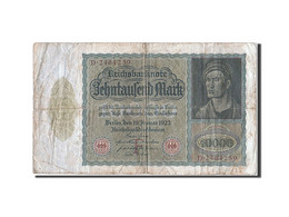 Allemagne, 10 000 Mark, Type Albert Duner - [ 3] 1918-1933 : République De Weimar