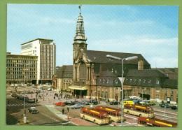 Luxembourg. Gare Centrale Et Bâtiment Du CFL. Autobus CFL (Chausson) - Luxembourg - Ville