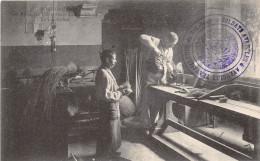 ¤¤  -   BORDEAUX   -  Les Aveugles Travailleurs Du Sud-Ouest  -  La Guillotine  -  Tampon Des Soldats Aveugles   -  ¤¤ - Bordeaux