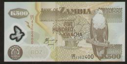 Zambia 500 Kwacha 2005 Pick 43d UNC - Zambia