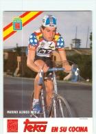 Marino Alonso MONJE . 2 Scans. Teka - Cycling