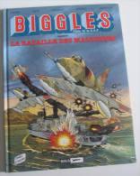 BIGGLES 10 :  Bataille Des Malouines - C.W Johns Asso Rideau Uderzo Chauvin Loutte - Etat Neuf -  1997 MIKLO - Biggles