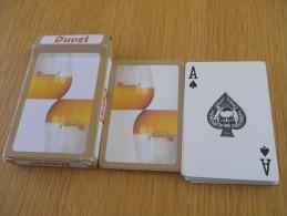jeu de 52 cartes � jouer  - BIERES BRASSERIES DUVEL