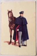 Guardia A Cavallo In Uniforme Ordinaria Invernale Del 1960 Non Viaggiata F.g. Illustrata Gibe II - Humoristiques