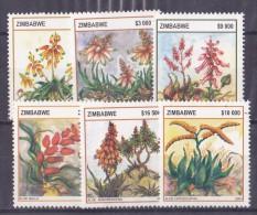Zimbabwe N°534/539 - 6 Valeurs - Neufs ** - Superbe - Zimbabwe (1980-...)