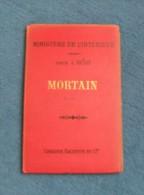 Carte Ancienne D´état Major – Hachette Et Ministère De L´Intérieur - Mortain Et Ses Environs - Cartes/Atlas
