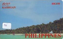 Télécarte HONGKONG * PHILIPPINES  * FILIPPINES Related * KAIBIGAN  (32) Telefonkarte Phonecard - Hong Kong