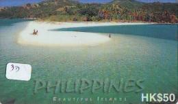 Télécarte HONGKONG * PHILIPPINES  * FILIPPINES Related * BEAUTIFUL ISLANDS  (33) Telefonkarte Phonecard - Hong Kong