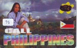 Télécarte   * PHILIPPINES RELATED * FILIPPINES *   (38) Telefonkarte Phonecard * - Philippines