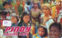 Télécarte   * PHILIPPINES  * FILIPPINES *  (53) Telefonkarte Phonecard * - Philippines