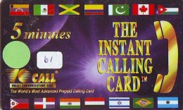 Télécarte   * PHILIPPINES  * FILIPPINES *  (61) Telefonkarte Phonecard * - Philippines