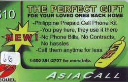 Télécarte   * PHILIPPINES  * FILIPPINES *  (66) Telefonkarte Phonecard * - Philippines