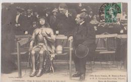 COMPIEGNE-Fetes De Jeanne D'Aec(8 Et 15 Juin 1913)-Melle Alice Dumars-M.BARRES  T M.R FOURNIE SARLOVEZE Député Maire De - Compiegne