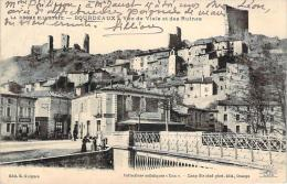 26 - Bourdeaux - Vue De Viale Et Des Ruines (café Du Commerce) - Frankreich
