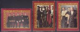 3089. Poland, 1968, Polish United Workers' Party, MNH (**) Michel 1882-1884 - 1944-.... République