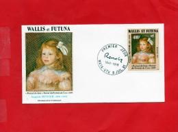 Pli En 1° Jour Du 8/7/1991  ( Portrait De Jean - Covers & Documents