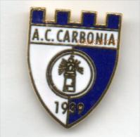 Pq1 A.C. Carbonia Calcio Distintivi FootBall Soccer Pin Spilla Pin´s Sardegna Italy Carbonia - Calcio