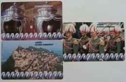 SAN MARINO - 1st Issue Set Of 3 - Urmet - Mint - San Marino