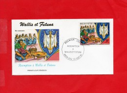 Pli En 1° Jour Du  15/8/1991 ( Assomption à Wallis & Futuna ) - Covers & Documents