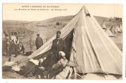 GREECE Judaica Juifs Sinistrés Sous La Tente ZEITENNIK - Greece