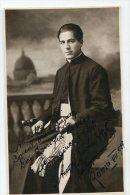 """AUTOGRAFO DÉDICACÉ AUTOGRAPHED """"ANGEL J. NEGRO"""" RARISSIME CELEBRE CANÓNICO 1925 SIGNATURE EXCLUSIVE NON CIRCULEE GECKO - Autographs"""