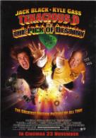 "15S: Hollywood Movie Cinema Poster Postcard "" Tenacious Din The Pick Of Destiny"" No1 - Afiches En Tarjetas"