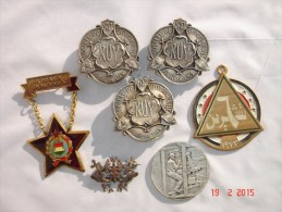 1 Lot De 7 Médailles Divers En Bon état. - Militaria