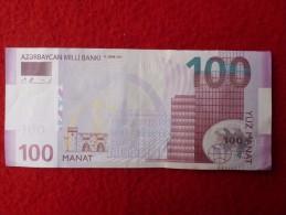 BILLET AZERBAYCAN  100 MANAT - Bankbiljetten