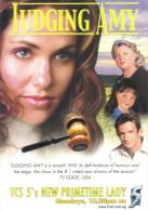 "15S : Movie Cinema Adcard - ""Judging Amy"" - Afiches En Tarjetas"