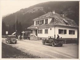 18077- ARNBACH- AUSTRAIN ITALIAN BORDER, VINTAGE CARS, PHOTO - Fotografía