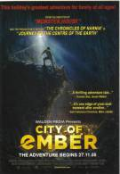 """15S :Movie Card : """"City Of Amber"""" - Mountaineering Hanging On Cliff (Singapore) - Afiches En Tarjetas"""